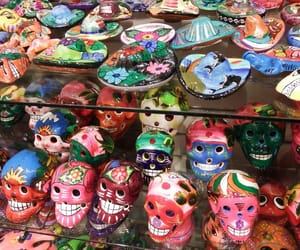 art, day of the dead, and hat image