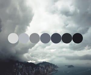 city, gloomy, and gray image