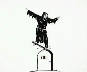 death, you, and skate image