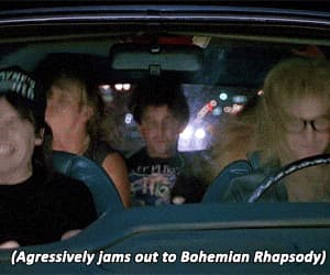 Queen, gif, and bohemian rhapsody image