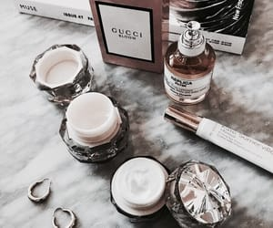 beauty, gucci, and perfume image