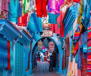 blue, morocco, and picture image