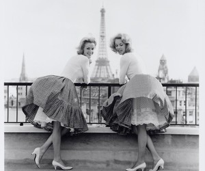 paris, girl, and vintage image