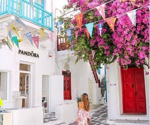 fashion, girl, and Greece image