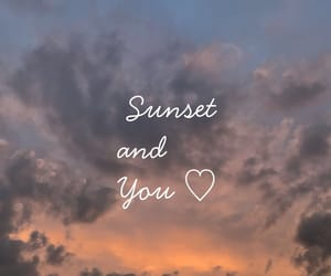 iloveyou, summer, and sunset image