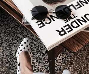 shoes, black and white, and fashion image