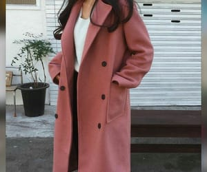 autumn, fashion, and pink image