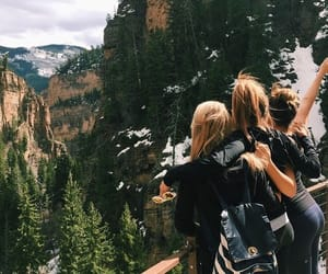 adventure, travel, and friends image