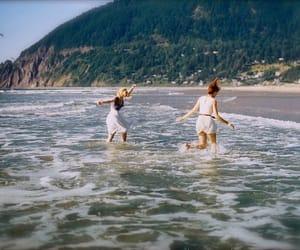 aesthetic, beach, and shoreline image