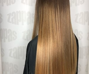 blonde, balayage, and hair goals image