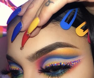 colors and makeup image