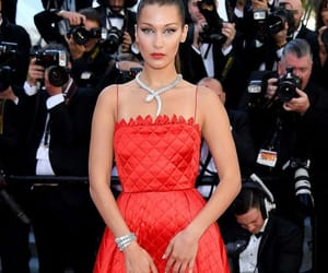 bella hadid, model, and red carpet image
