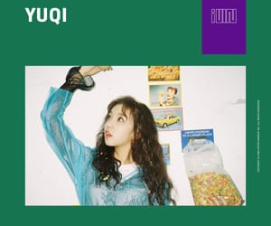 (g)i-dle, kpop, and yuqi image