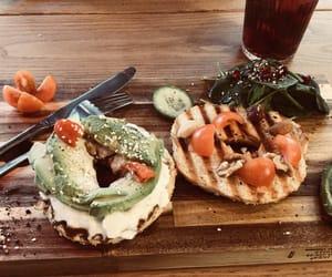 avocado, bagel, and belgium image