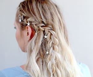 braid, festival, and trendy image