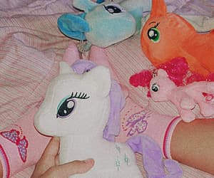 baby, my little poney, and pink image