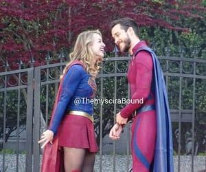 chris wood, kara danvers, and Supergirl image