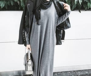 casual, hijab, and muslim image