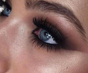 beauty, eye makeup, and glam image