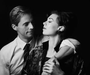 actors, cigarette, and black & white image
