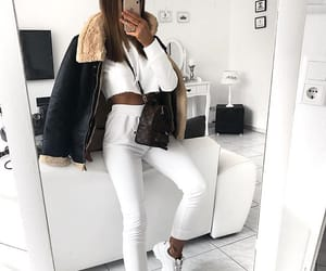 body, clothes, and goals image