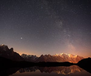 galaxy, landscape, and nature image