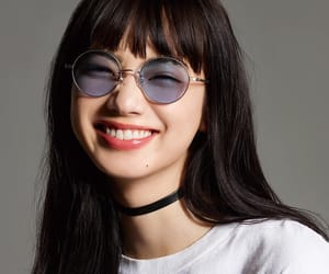 glasses, model, and nana komatsu image