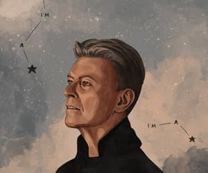 david bowie, constelacion, and animado image