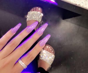 nail art, glamour+glam+luxury, and girly+chic+beauty image