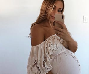 baby bump, pregnancy, and pregnant image