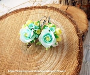 etsy, mint wedding, and wedding jewelry image