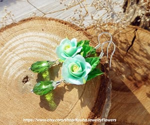 etsy, mother's day gift, and floral jewelry image