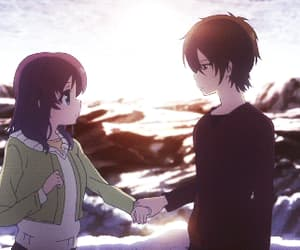 anime, nagi no asukara, and gif image