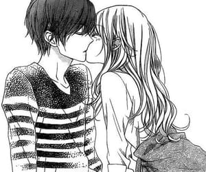 kiss, manga, and couple image