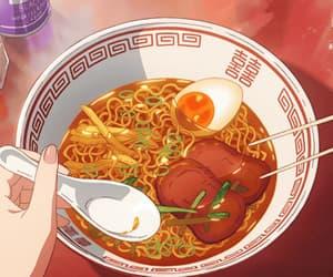gif, anime, and food image