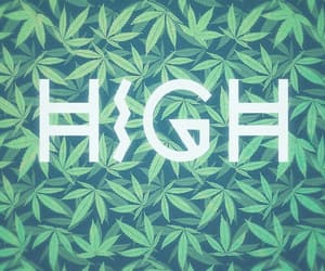 cannabis, high, and quotes image