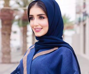 hijab, style, and muslim fashion image
