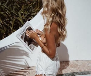 girl, magazine, and outfit image