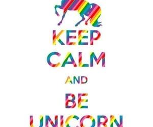 keep calm, unicornio, and divertido image