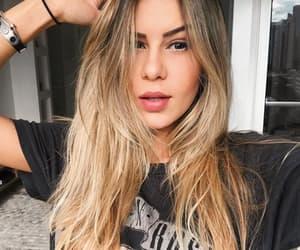 beauty, hair, and loira image
