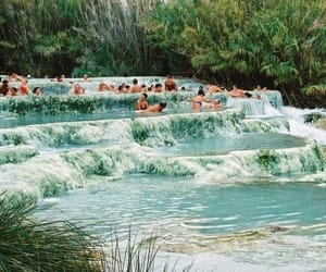 italy, paradise, and spa image
