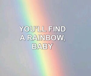 beauty, Lyrics, and rainbow image