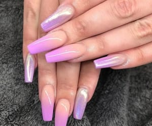 nail art, nails, and pink image