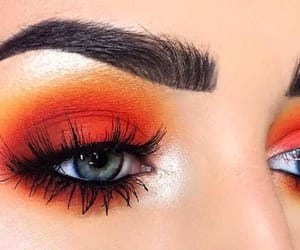 chicas, orange, and style image