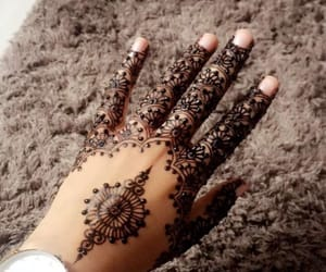 henna, tatoo, and tatouage image
