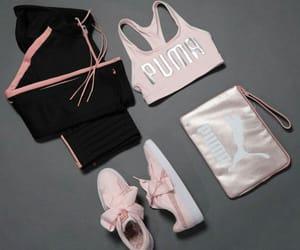 clothes, puma, and fashion image