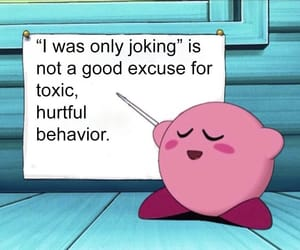 kirby, thoughts, and fyi image