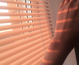 aesthetic, pink, and blinds image