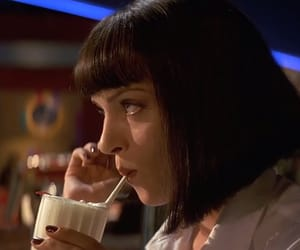 mia wallace, pulp fiction, and quentin tarantino image
