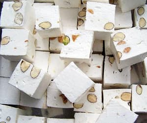 food and nougat image